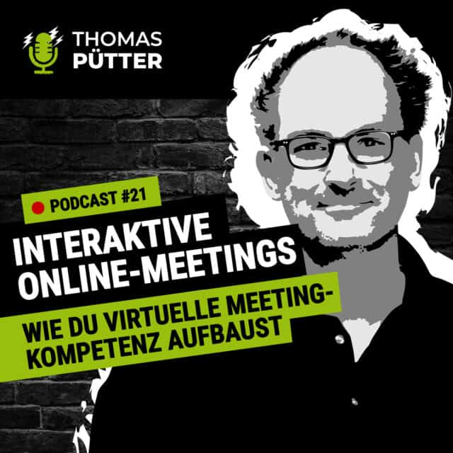 Podcast Folge #21 Online-Meetings